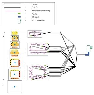 diagram of lamp electronics