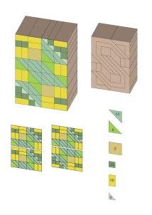 Triangle and square breakdown